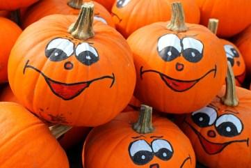 zucche halloween disegnate