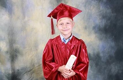 bambino scuola diploma