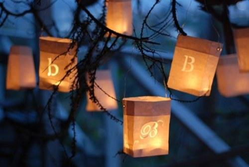 lanterna sacchetto carta