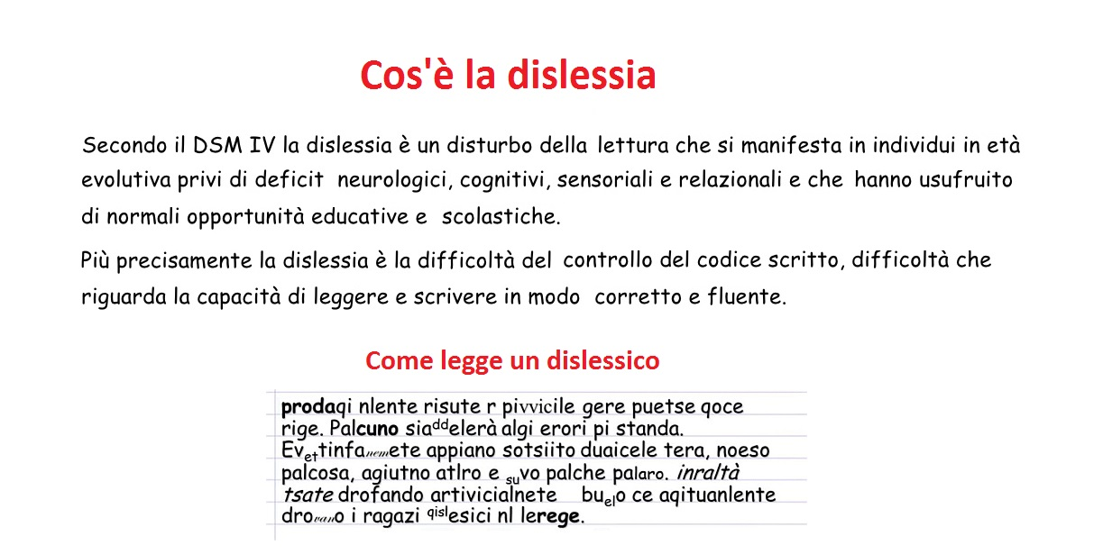 Molto Disturbi Specifici di Apprendimento (DSA): dislessia, discalculia  IC98