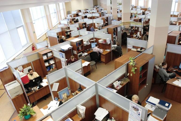 Ambiente de trabalho organizado