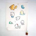 Ausgangsmaterial: Zeichnungen von Howie Woo | woowork.com