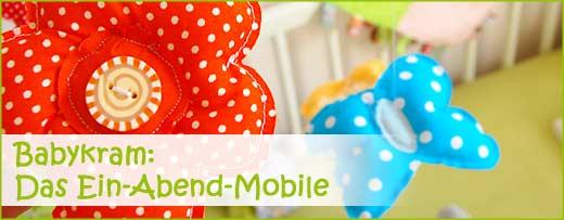 Tiffybabys neues Ein-Abend-Mobile