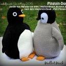 """Pinguin-Duo, genäht von Mareike nach dem binenstich-Ebook """"Pelli Pinguin""""   binenstich.de"""