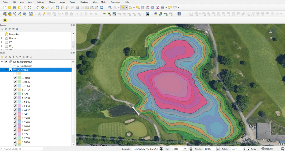 New BioBase Feature Alert: Export Depth Contour Shapefiles