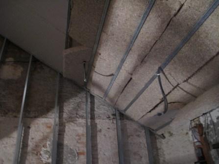 Rénovation Plafond en chanvre