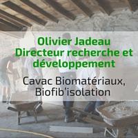 Olivier jadeau chantier chaux chanvre