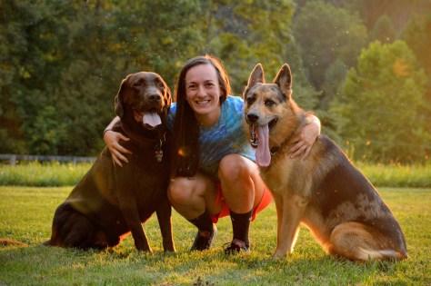 Emily Halaszynski BioStar's canine brand ambassador