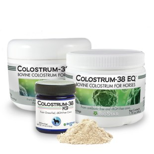 BioStar's Colostrum-38 EQ and Colostrum 38 K9