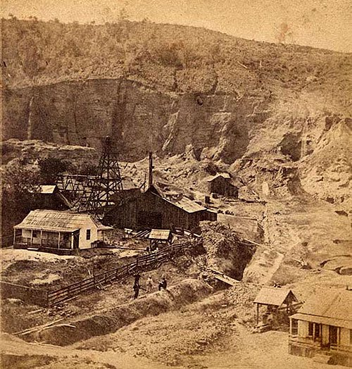 Blue Point diggings, 1870