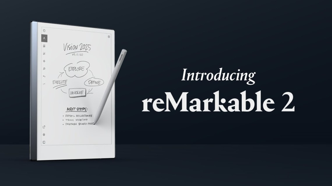 reMarkable 2 paper tablet