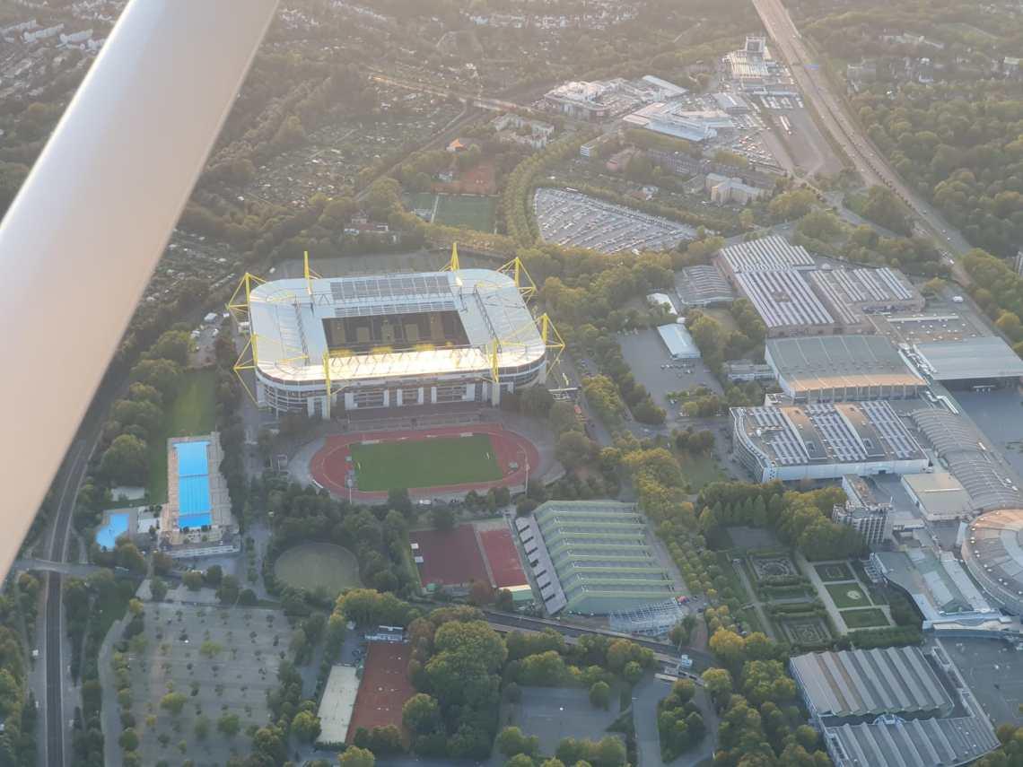 BVB-Stadion von oben