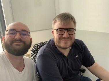 bitpiloten Benjamin Siebels und Marc Grundmeyer