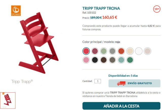 comprar stokke tripp trapp