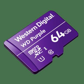 Western Digital microSD 64GB Purple memóriakártya