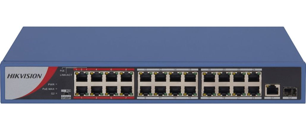 Hikvision big PoE switch