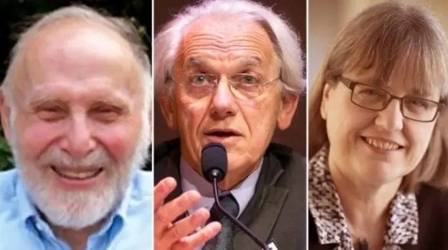Figure 1: Arthur Ashkin, Gerard Mourou and Donna Strickland Source: Nobelprize.org