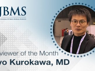 The Reviewer of the Month for February 2021: Dr. Ryo Kurokawa