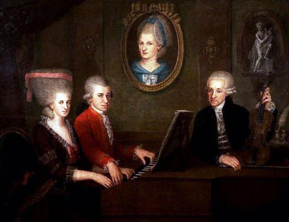 Mozart - Portret de familie
