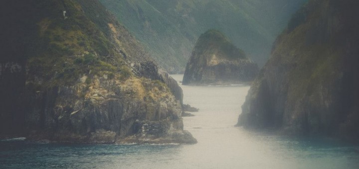 Crossing between North and South Island @Picton