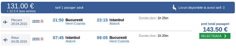 Bucuresti-Istanbul