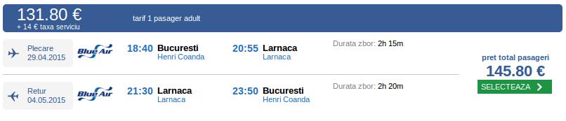 Bucuresti-Larnaca