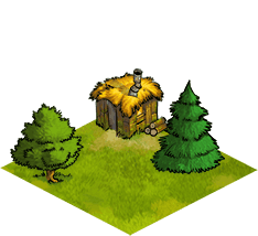 Festung - 3 - Holzfällerhütte Stufe 1