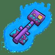 Item #11_1_055 - Schuppenschlüssel der Schattenechsen