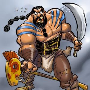 14. Dungeon - Osteros - Drogo der Bedrohliche