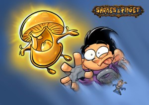 Shakes und Fidget - The Golden Mushroom