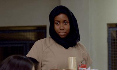 Black muslim woman