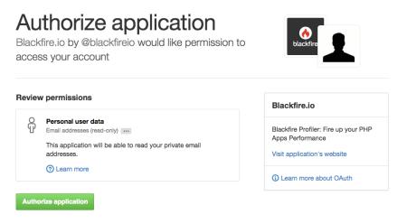 authorize-blackfire-application