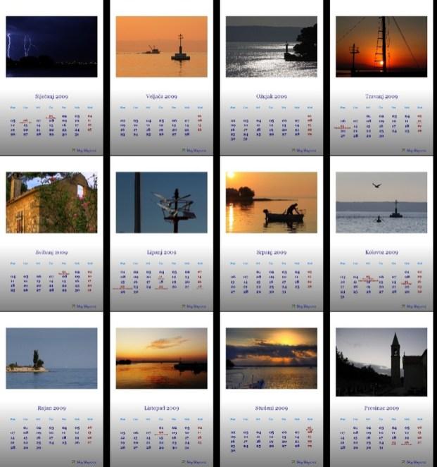 Kalendar 2009 Poljana