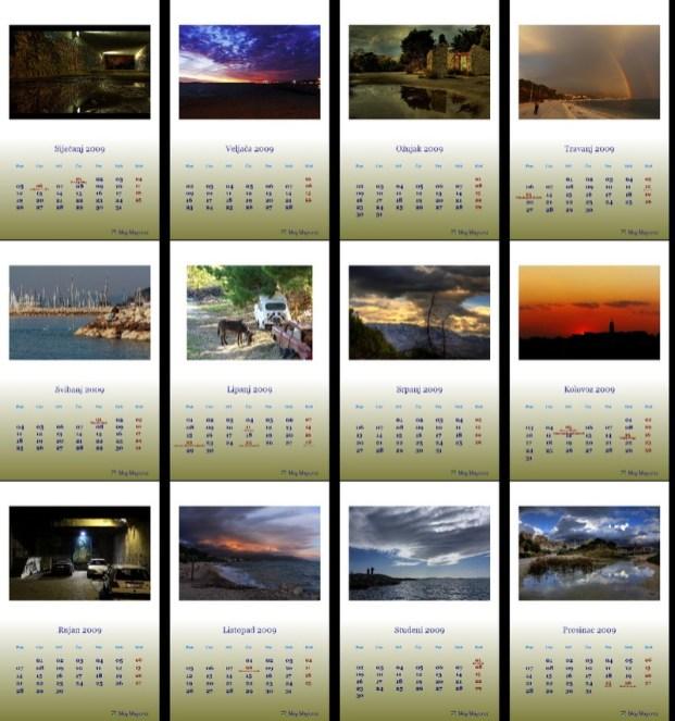Kalendar 2009 Trstenik