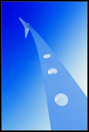 Jarbol za suho u plavom