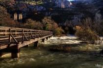 Most na rijeci, Krka, Hrvatska