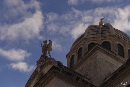 Kupola Šibenske katedrale, Hrvatska
