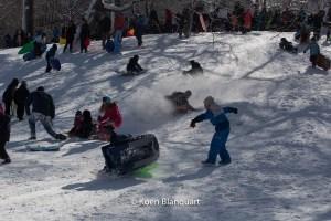 Snow fun in Central Park (2013 - Image Koen Blanquart)