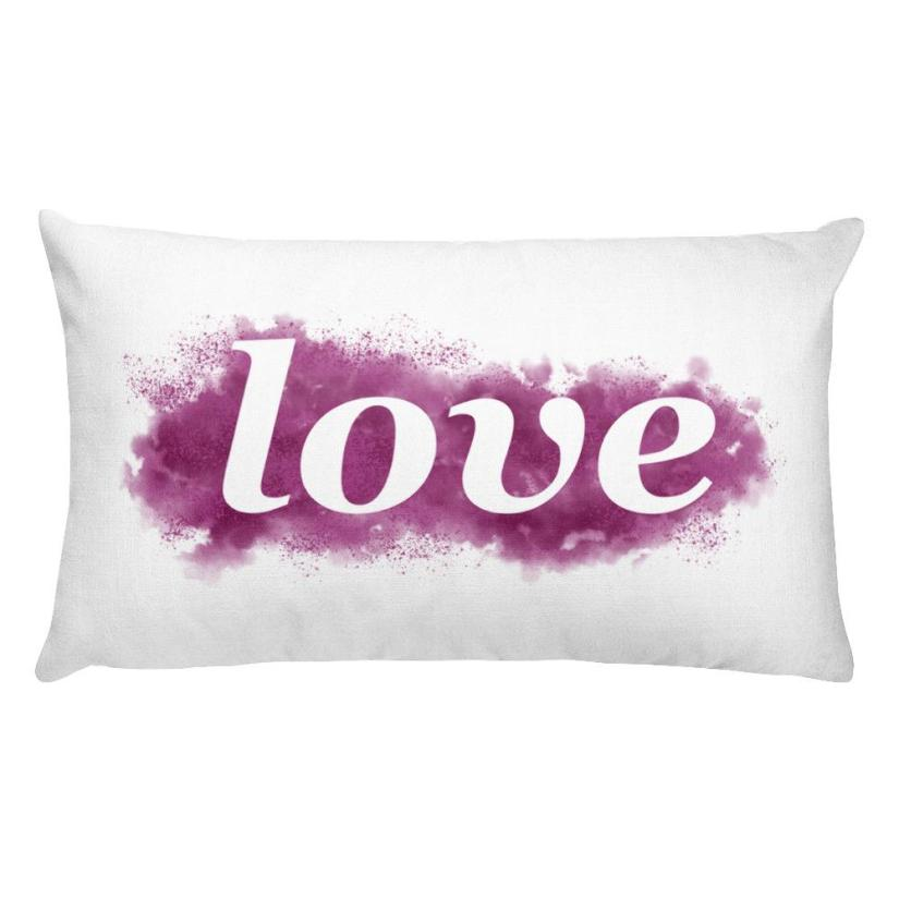 Love Word Pillow