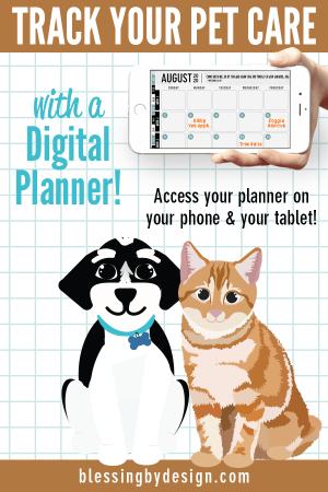 Pet Digital Planner