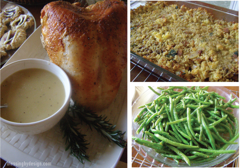 Small and simple holiday meal