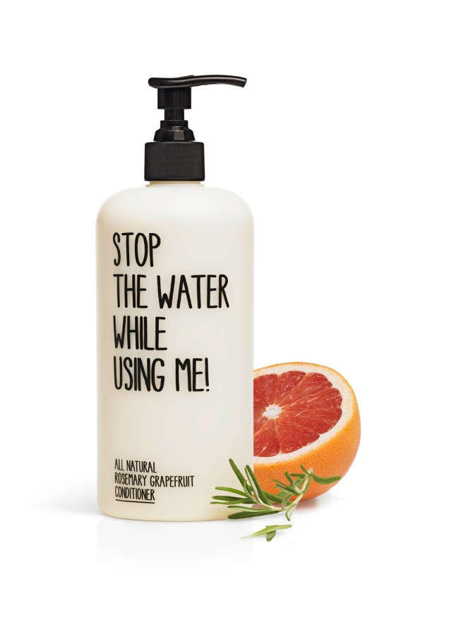 stop the water while using me conditioner bleywaren