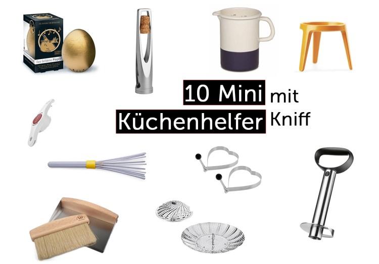 10 Mini Küchenhelfer mit Kniff - Bleywaren