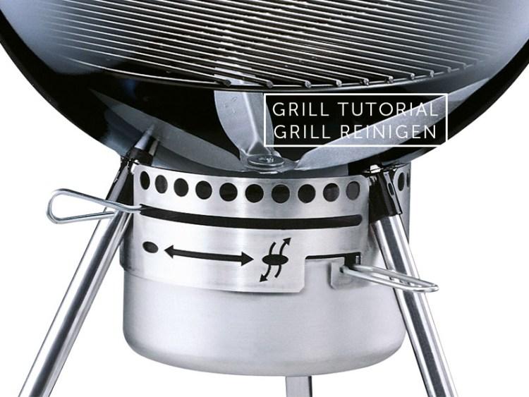Weber Holzkohlegrill Richtig Anheizen : Grillakademie: grill reinigen bleywaren