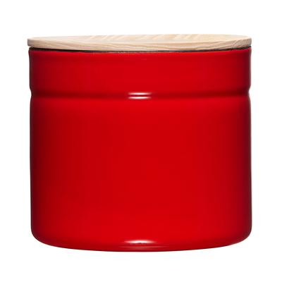 riess_kitchenmanagement_vorratsdose_rot_fresh_tomato_aufbewahrung_gewürzdose_teedose_kaffeedose