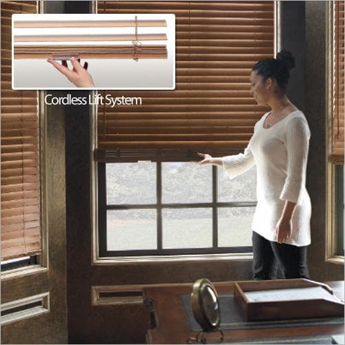 "Levolor 2"" Premium Wood Blinds Venetian Cordless"