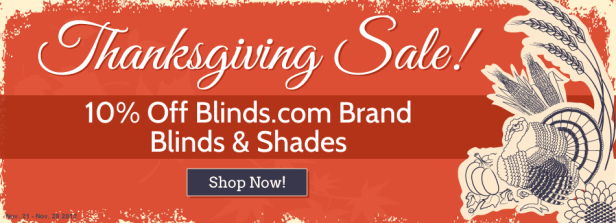 Blinds.com Black Friday Cyber Monday Sales