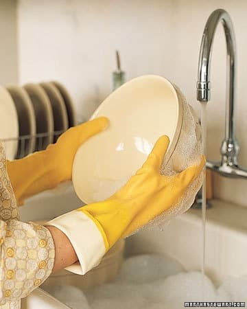 Dish washing tips