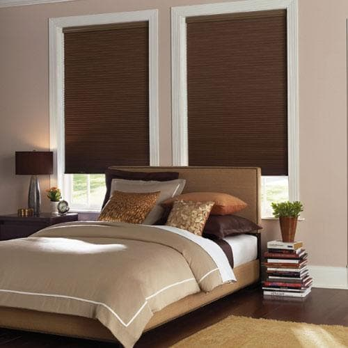 Levolor Room Darkening Cell Shades from Blinds.com