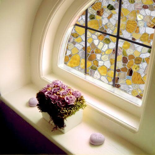 Window treatments for historic homes the finishing touch for Decorative window film stained glass victorian